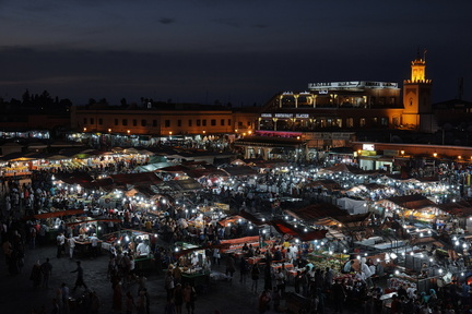 Jamaa el Fna at night